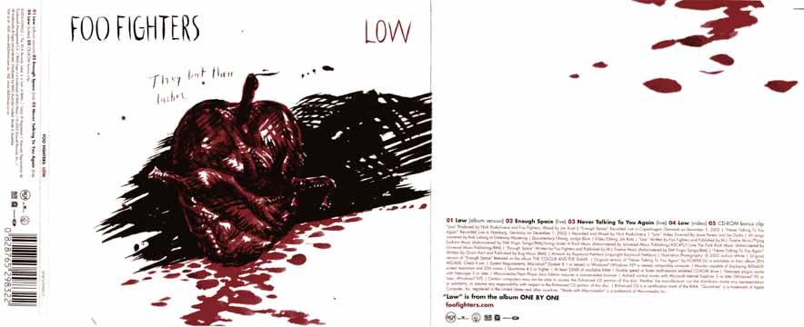 94d5730d503b4b Foo Fighters — Low CD single