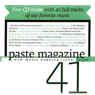 Various - Paste Magazine Sampler June - July 06 Issue 22