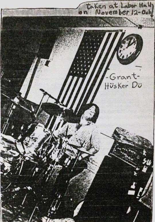 Hüsker Dü, Labor Hall, Oshkosh WI, 12 Nov 1983