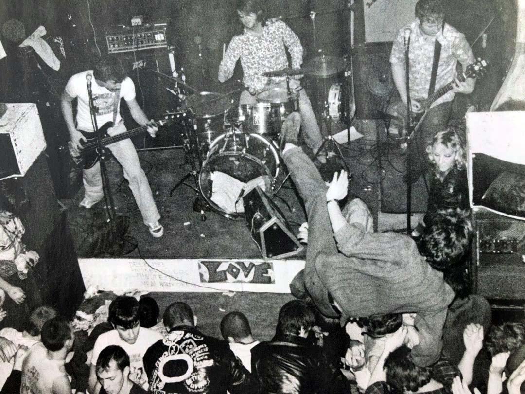 Hüsker Dü, Love Hall, Philadelphia PA, 16 Dec 1983