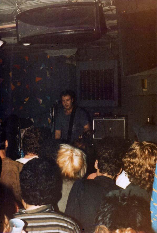 Hüsker Dü, Maxwell's, Hoboken NJ, 29 Dec 1984