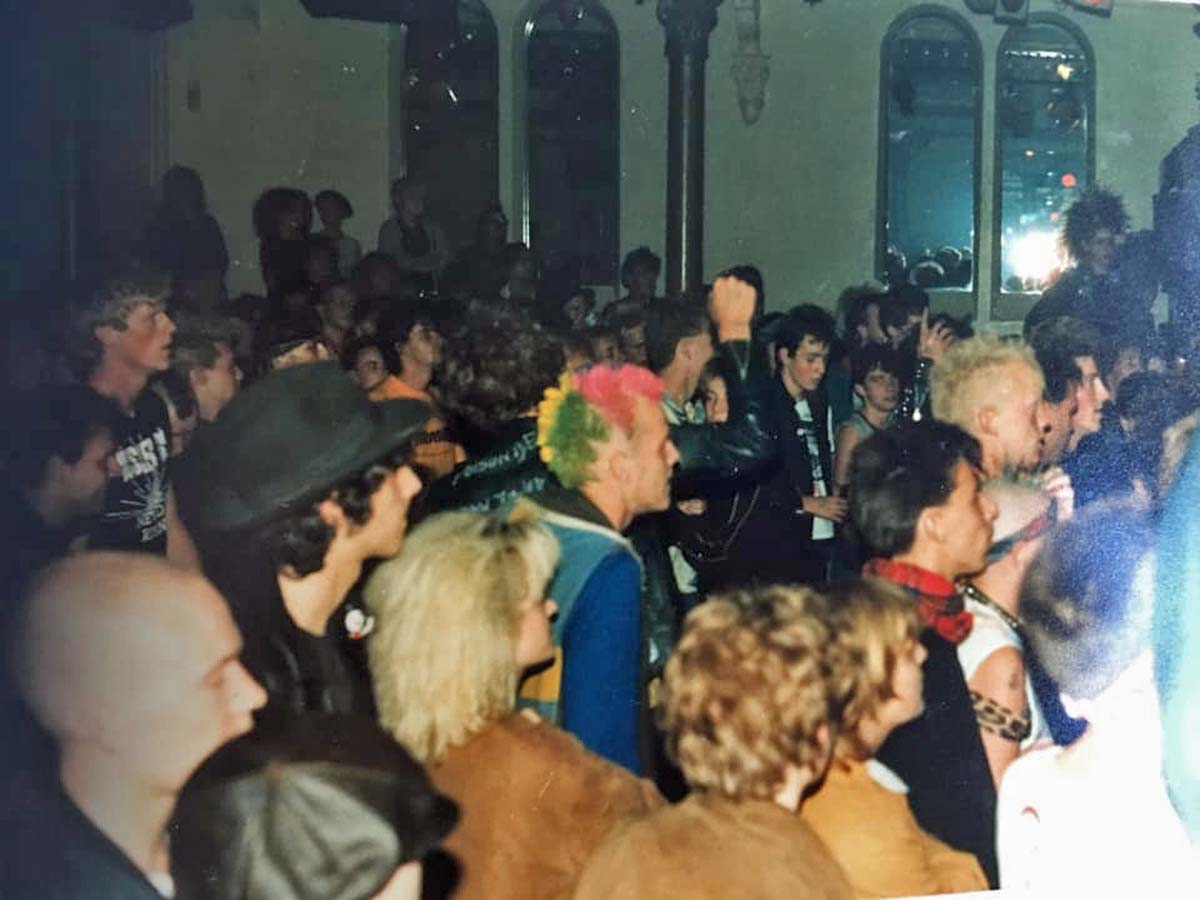Hüsker Dü @ Paradiso, Amsterdam NL, 07 Sep 1985