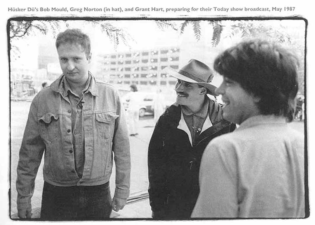 Hüsker Dü @ Hennepin County Government Center, Minneapolis (Today Show), 20 May 1987