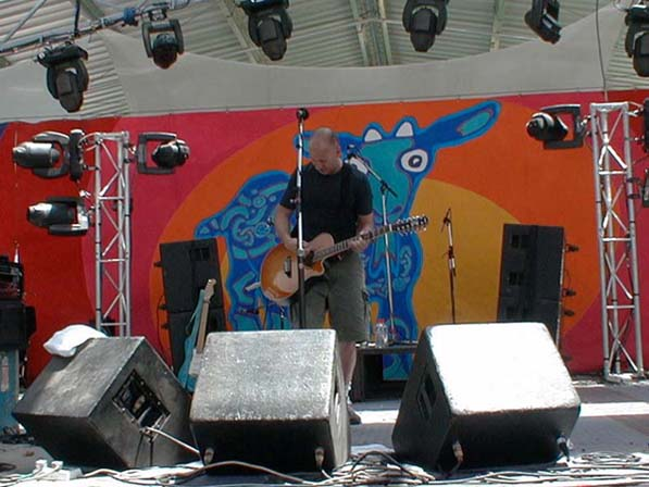 Bob Mould @ Meredith Music Festival, Meredith, VIC, Australia, 15 Dec 2002