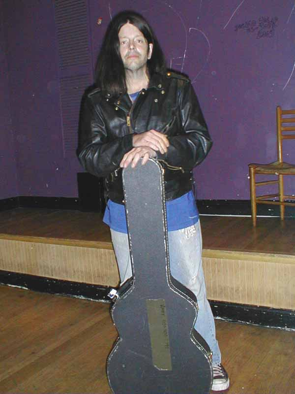 Grant Hart, 31 Jul 2005 (leather jacket)