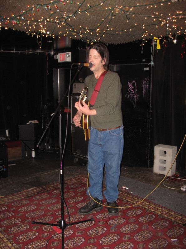 Grant Hart @ Cake Shop, NYC, 14 Jan 2010