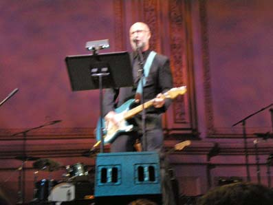 Bob Mould, Carnegie Hall, NYC, 02 Mar 2010 (Who tribute concert)