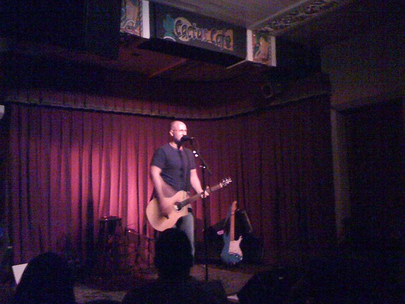 Bob Mould, Cactus Cafe, Austin TX, 29 Apr 2010