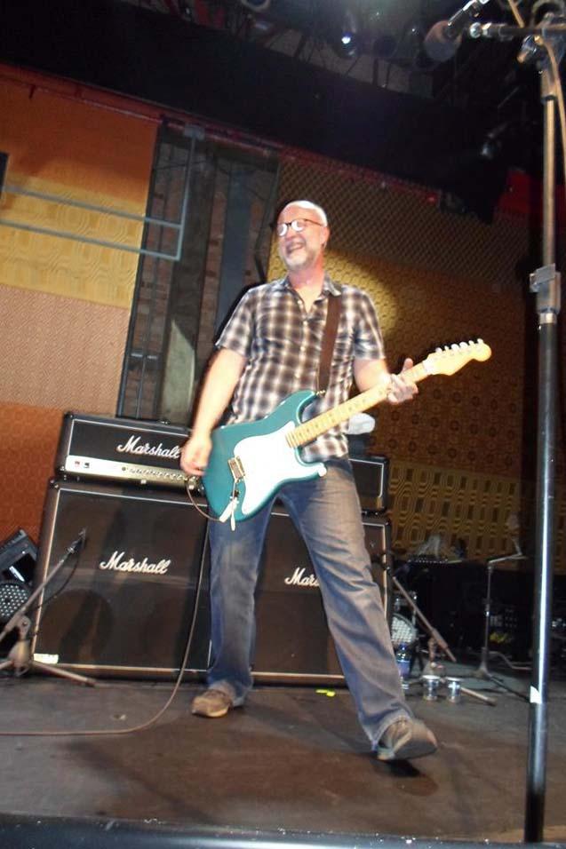 Bob Mould Band @ Sesc Pompéia São Paulo, Brazil, 04 Oct 2013