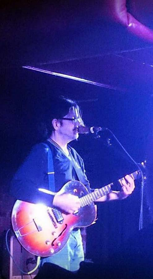 Grant Hart @ Broadcast, Glasgow, Scotland, 23 Oct 2013