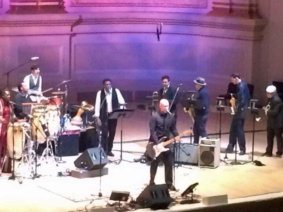 Bob Mould @ Carnegie Hall, New York NY (Paul Simon Tribute), 31 Mar 2014