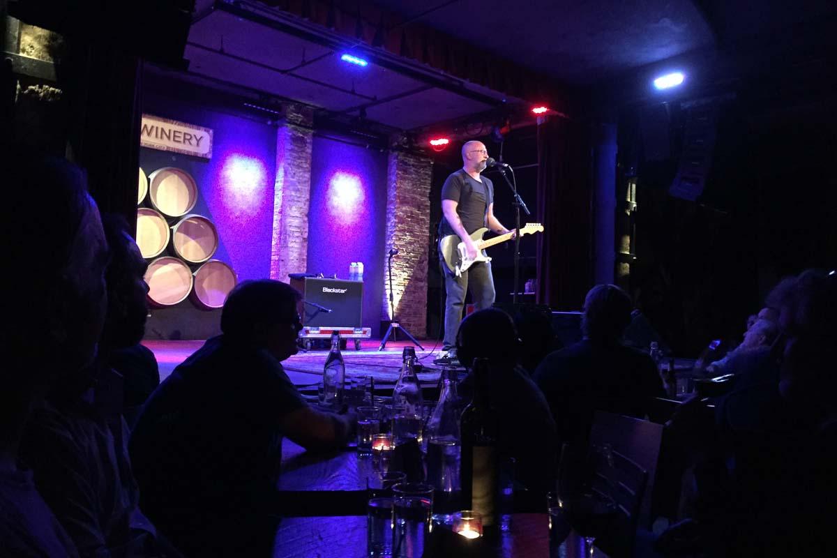 Bob Mould @ City Winery, New York NY, 25 Sep 2015