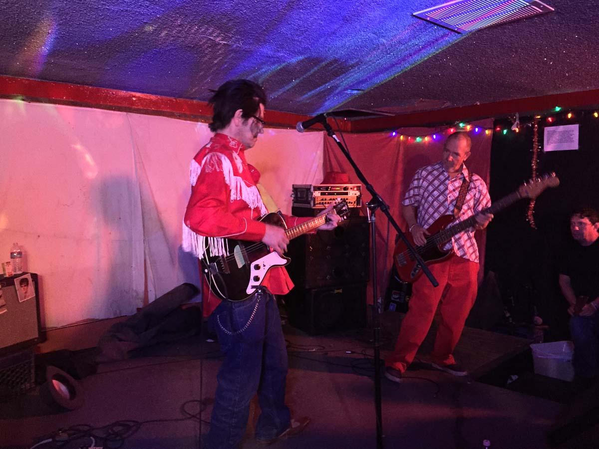 Grant Hart & Chuck Dukowski @ Cafe NELA, Los Angeles CA, 21 Nov 2015