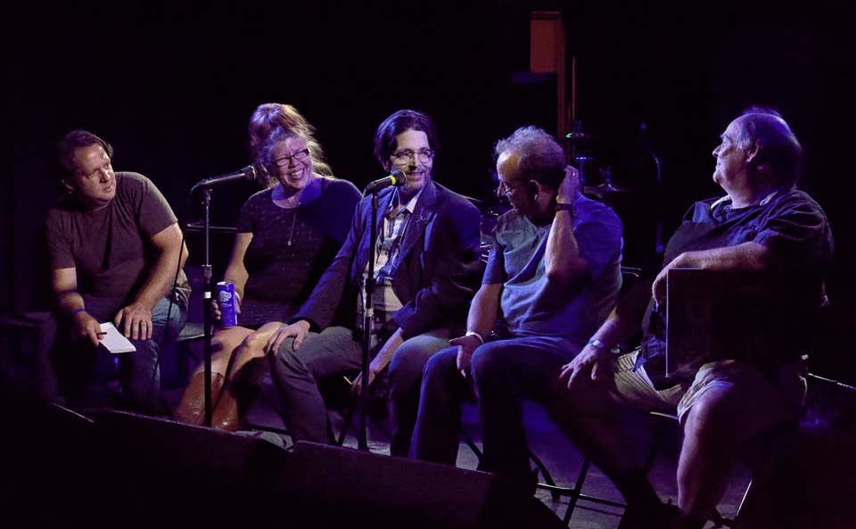 post-gig panel discussion @ 7th St Entry, Minneapolis MN, 15 Aug 2016