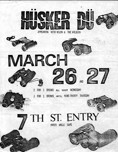 Husker Du Performance Dates