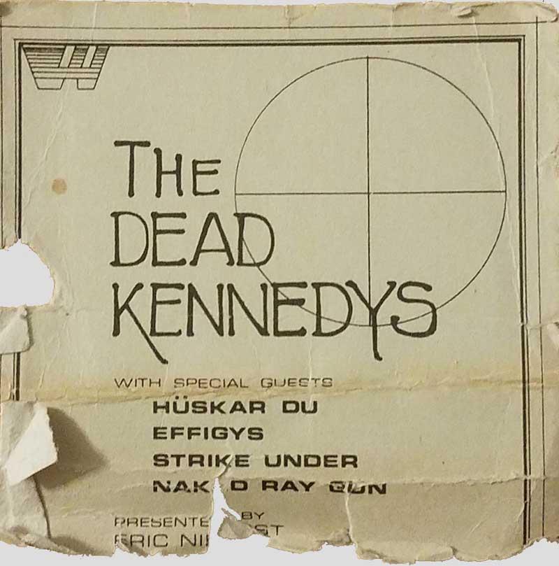 Hüsker Dü 17-18 Sep 1981
