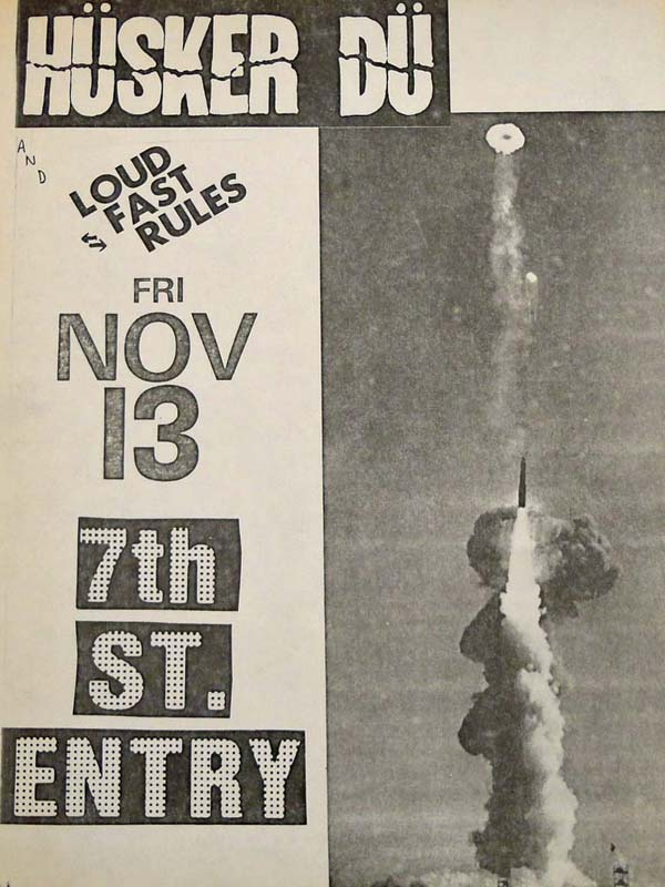 Hüsker Dü 13 Nov 1981