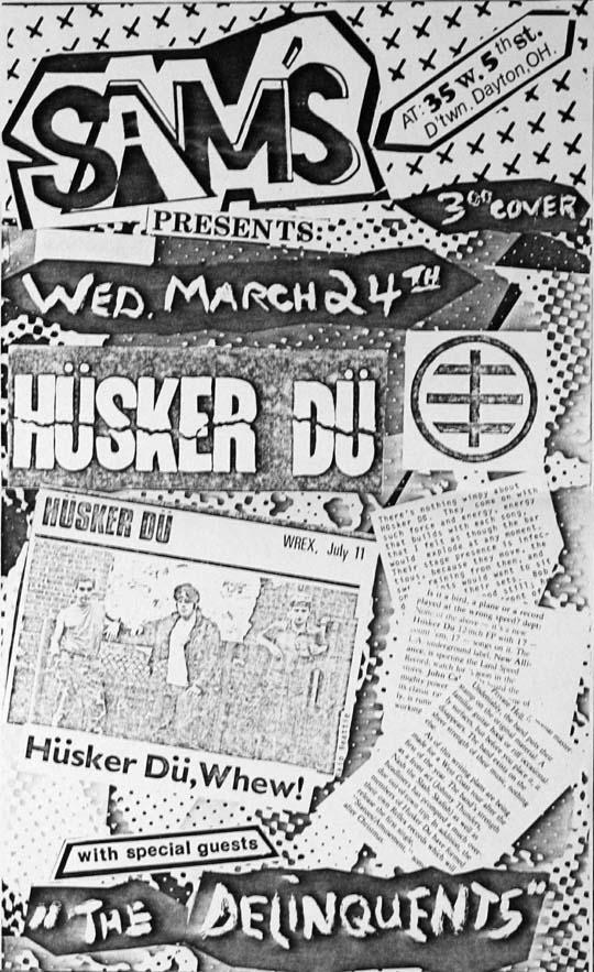 Hüsker Dü 24 Mar 1982
