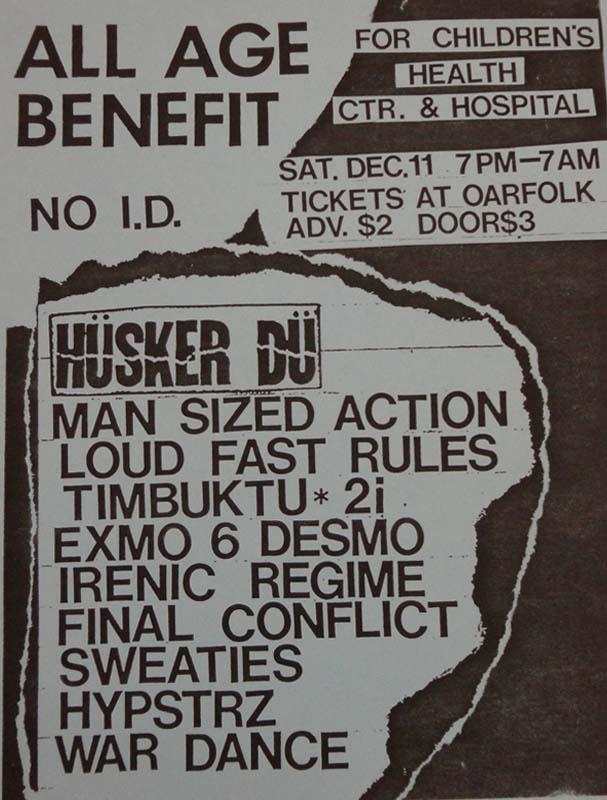 Hüsker Dü 11 Dec 1982