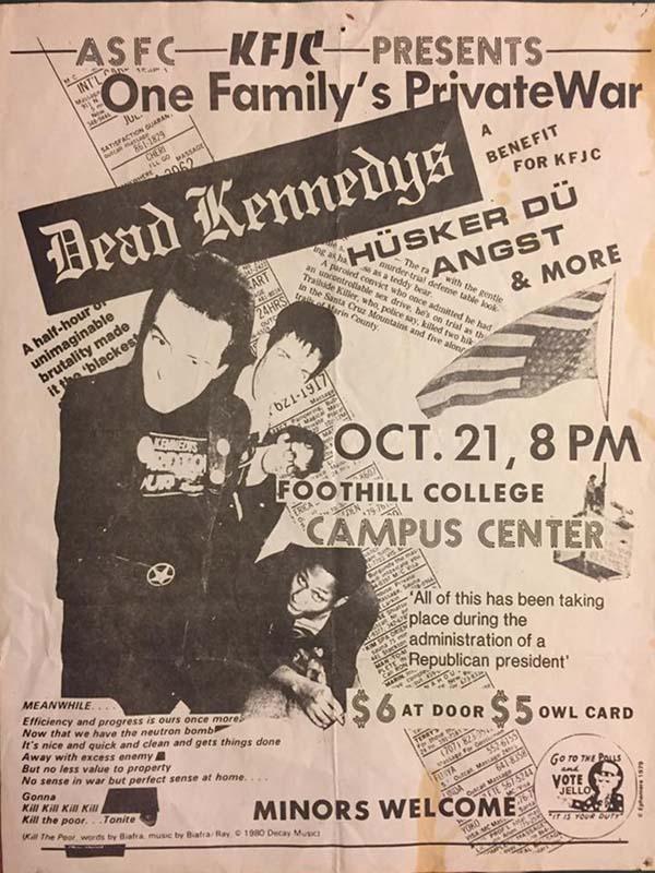 Hüsker Dü 21 Oct 1983