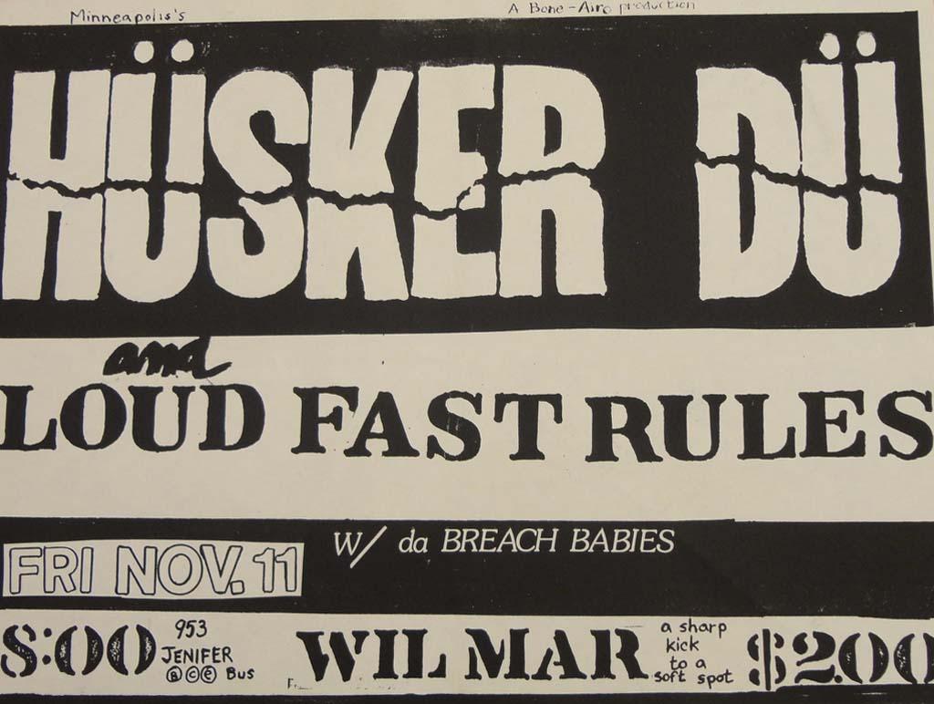 Hüsker Dü 11 Nov 1983