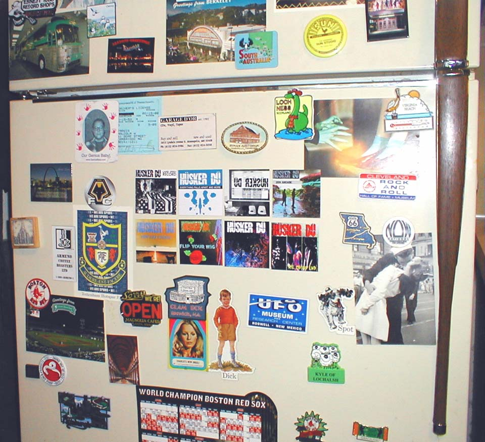hüsker dü fridge magnets 2006