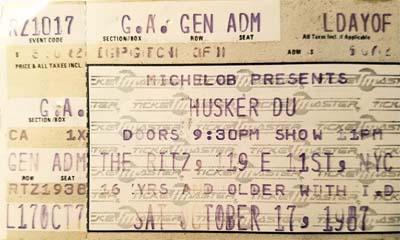Wayback Machine Asheville 1984 >> Husker Du Database Revision History